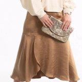 CLUTCH BAG KYRA CAMO METALLIC sample/stock sale_