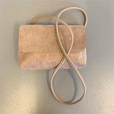 SOFT CORD SADDLE  BAG SMALL MOA NUDE_