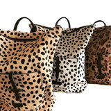 BACKPACK LARGE MARNY LEOPARD PRINT_