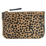 WALLET MIJA II SMALL FURRY LEOPARD PRINT_
