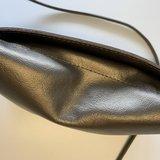SOFT CORD SADDLE  BAG SMALL BRONZE_