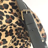 SHOPPER PHEADRA  FURRY LEOPARD PRINT_