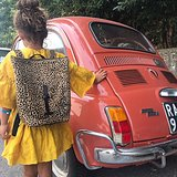 BACKPACK SMALL MIJA II LEOPARD PRINT_