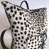 BACKPACK LARGE NANNE DALMATIAN PRINT_