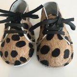 NEW BORN BABYBOOTIE MARNY LEOPARD PRINT_