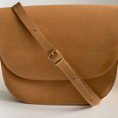 SADDLE BAG SAC II SMALL HONEY sample/stock sale