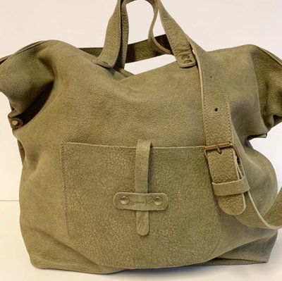 SHOPPER OLIVE GREEN