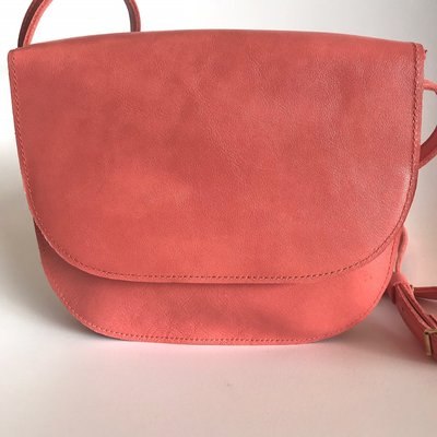 SADDLE BAG COLETTE LARGE CORAL