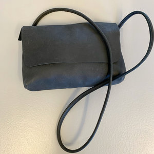 SOFT CORD SADDLE  BAG SMALL PHIL BLACK