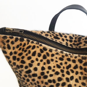 BACKPACK SMALL MIJA II LEOPARD PRINT