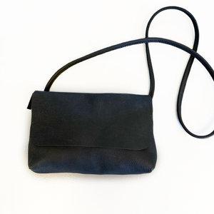 SOFT CORD SADDLE  BAG  PHIL BLACK