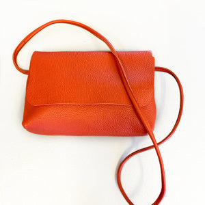 SOFT CORD SADDLE  BAG SMALL KEE ORANGERED