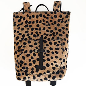 BACKPACK SMALL MARNY LEOPARD PRINT