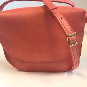 SADDLE BAG COLETTE SMALL CORAL